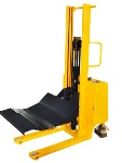 Semi Electric Roll Stacker