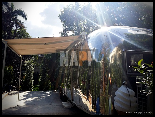 Car Awning Air stream กันสาด