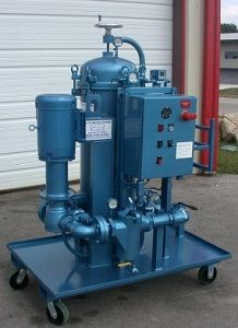High Flow oil filtration system