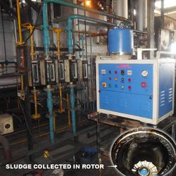 Centrifugal oil cleaning system for quenching oil_2