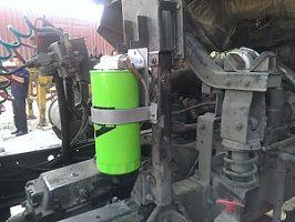 Truck bypass filter