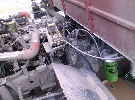 Engine bypass filter