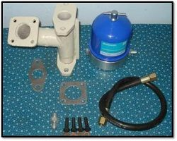 Centrifuge installation kit