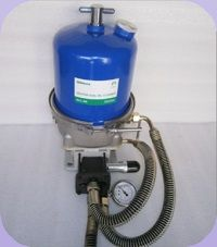 Centrifugal cleaner for Hydraulic system