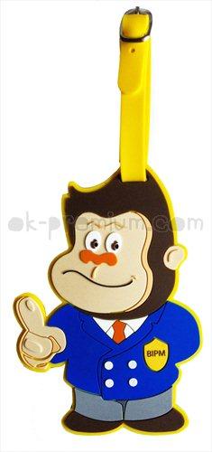แท็กยางหยอดเมจิ เมจิ ที่คล้องกระเป๋าพรีเมี่ยม ของชำร่วย ของพรีเมี่ยง สินค้าพรีเมี่ยม ของแจก สกรีนโลโก้ฟรี พวงกุญแจยางหยอด