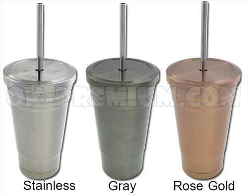 K889 แก้วสแตนเลส 450ml สินค้านำเข้า ของพรีเมี่ยม ของฝาก ของแจก ของแถม พรีเมี่ยม สกรีนโลโก้