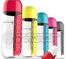 K924กระบอกน้ำใส่ยาได้  สินค้านำเข้า ของพรีเมี่ยม ของฝาก ของแจก ของแถม พรีเมี่ยม สกรีนโลโก้