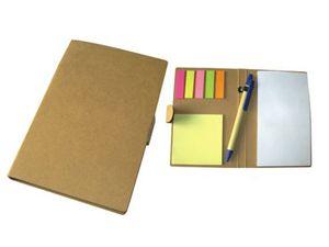 K2001 กระดาษโน๊ตพร้อมกล่องแบบรีไซเคิ้ล พร้อมสกรีน ของพรีเมี่ยม ของแจก สินค้านำเข้า ของชำร่วย ของแถม กระดษษโน๊ต