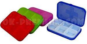 K1702 กล่องใส่ยา ตลับใส่ยา สินค้าพรีเมี่ยม สินค้านำเข้า อุปกรณ์ไอที ของพรีเมี่ยม พร้อมสกรีน ของชำร่วย ของแจก ของแถม ฟรีสกรีนโลโก้
