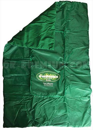 T311 หมอนผ้าห่ม หมอนผ้าห่มพรีเมี่ยม ผ้าร่มโพลี+ผ้าคัตตอน100% รับผลิตหมอนผ้าห่ม หมอนอิง หมอนผ้าร่ม  หมอนผ้าห่มทำจากผ้าร่ม หมอนของชำร่วย