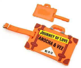 T502 ป้ายยางคล้องกระเป๋า ป้ายคล้องกระเป๋า  ป้ายแขวนกระเป๋า ยางหยอด ของพรีเมี่ยม สินค้าพรีเมี่ยม ของชำร่วย