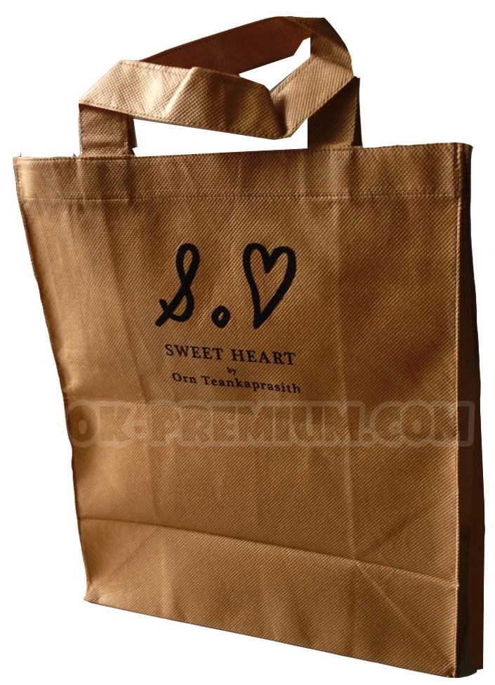 T1614 ถุงผ้าสปันบอนด์ ถุงผ้า พรีเมี่ยม ถุงผ้าพรีเมี่ยม ของที่ระลึก ของฝาก สินค้านำเข้า ของแจก ของแถม