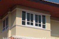 งานหน้าต่าง สร้างบ้าน
