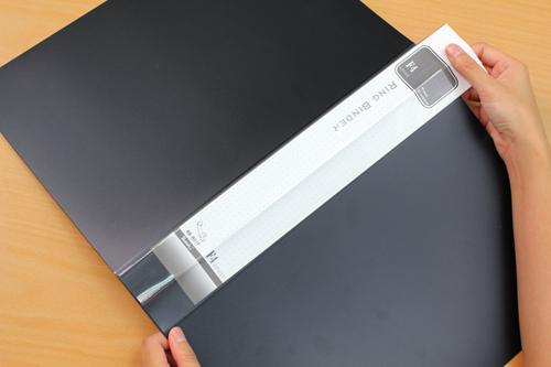 เครื่องเขียนแฟ้มห่วง แฟ้มพลาสติกใส่เอกสาร RB801F