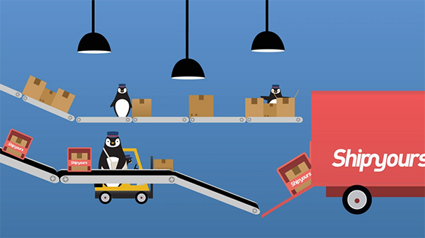 Order Fulfillment Service : Shipyours in process