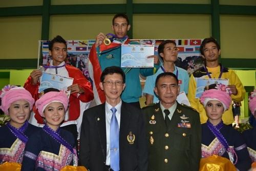 นักกีฬาไทยเจ๋ง คว้าเหรียญทองปันจักสีลัตชิงแชมป์โลกครั้งที่ 15 ที่เชียงราย ในรุ่นน้ำหนักไม่เกิน 65 กก.
