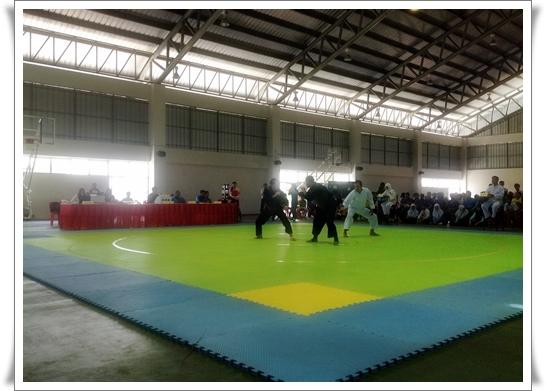 กำหนดการแข่งขันกีฬาปันจักสีลัตคัดเลือกตัวแทนทีมชาติไทย รอบสุดท้าย วันศุกร์ที่ 16 สิงหาคม 2556 เริ่มแข่งขันเวลา 10.00 น.
