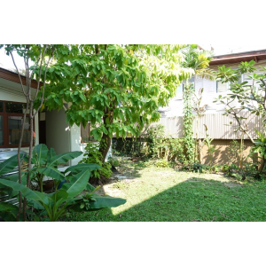 House with garden for rent in Sukhumvit 31