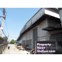 Warehouse 2 storey plus small office for rent in center of Nonthaburi about 375 sq m.