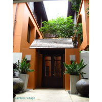 Raintree Cluster House for rent in Sukhumvit 41 with security and swimming pool around Phrom Phong BTS