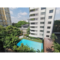 3 bedroom Apartment in Sukhumvit 55 about 15min walk Thong Lo BTS