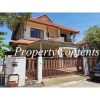 Houses 3 bedroom for rent in Mooban Supawan behind The Mall BangKhae 10min walk Lak Song MRT Station