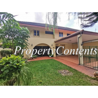 Semi-Detached House for rent in compound share pool near St Andrew Int'l School , Sukhumvit 107 around Bearinh BTS Station