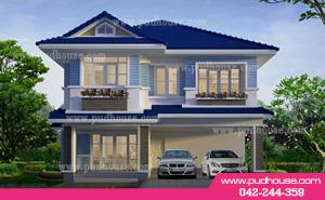 แบบบ้าน,บ้าน,แบบบ้านสองชั้น,รับสร้างบ้าน,แบบบ้านราคาประหยัด