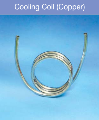 cooling coil for aspirator
