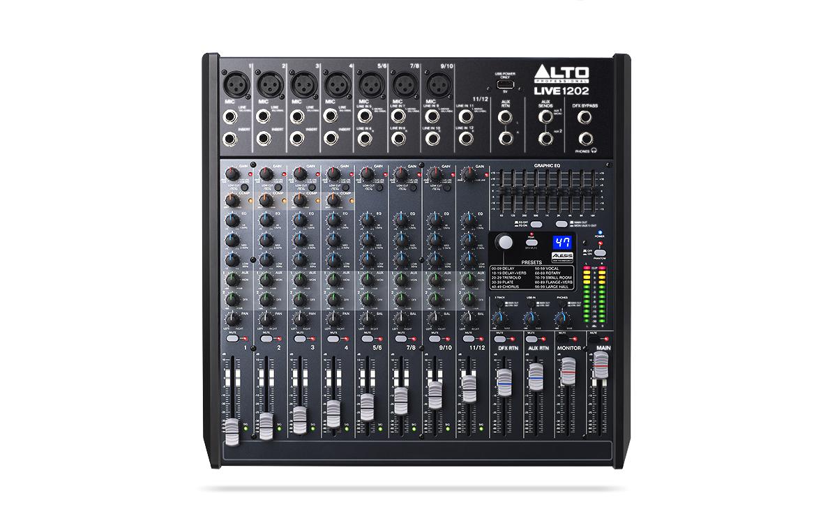 Mixer Alto Live1202