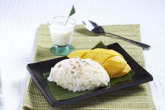 Mango Sticky Rice by Sipso