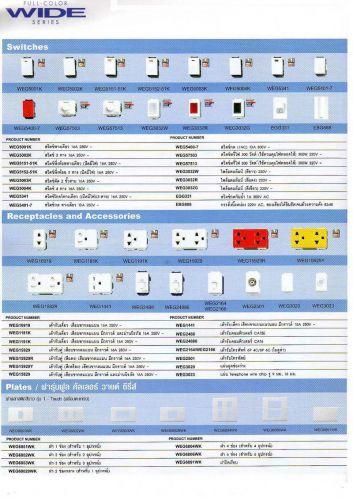 สวิต-ปลั๊ก-อุปกรณ์ไฟฟ้า-พานาโซนิก-Panasonic-รุ่นWideSeriesลดราคา
