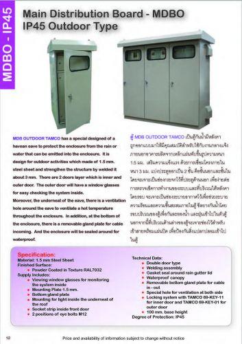 อุปกรณ์ไฟฟ้าตู้สวิตส์บอร์ดแทมโกTAMCO