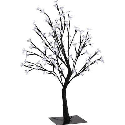 อุปกรณ์ไฟฟ้าแอลอีดีซากุระนำเข้าพิเศษสีขาวต้นยืนได้