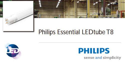 อุปกรณ์ไฟฟ้าแคตตาลอก หลอด L E D แอลอีดี T8 Philipsฟิลิปส์
