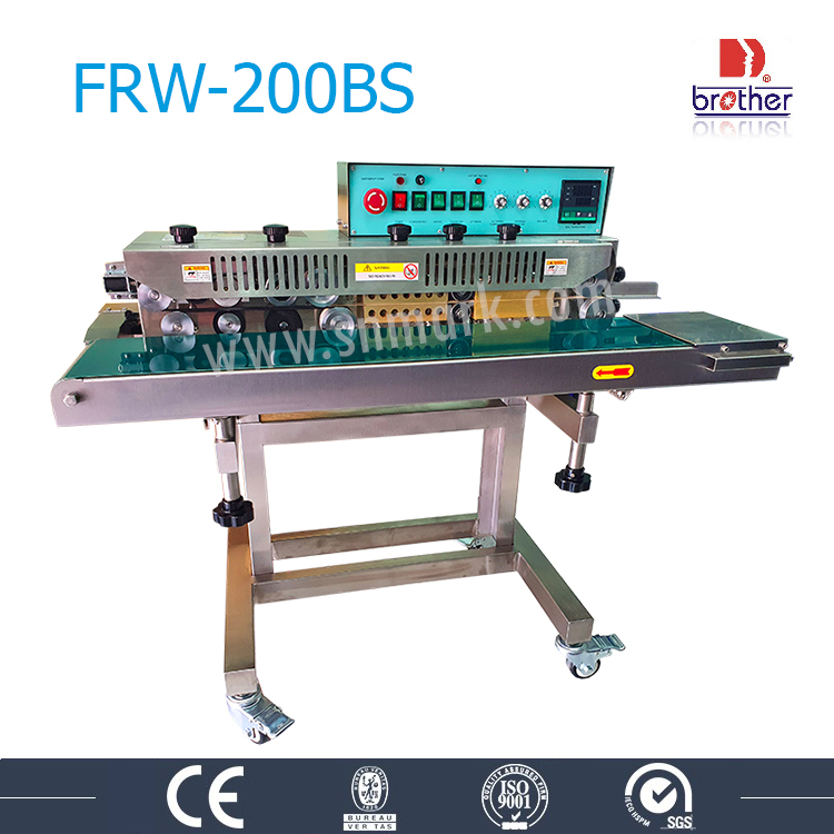 เครื่องซีลสายพานต่อเนื่อง ฺbrother FRW-200BS