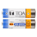 toa,WB-2000-2, Ni-NH battery,แบตเตอรี่แบบชาร์จใหม่, rechargeable battery,battery charger,ราคา