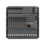 MACKIE PPM1012 เพาเวอร์มิกเซอร์ 12-Channel, 1600W Powered Desktop Mixer with 4-segment LEDs and solo PFL