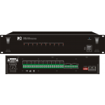 ITC-AUDIO T-6211 A  เครื่องควบคุมจ่ายไฟ  10-Chanel 24VDC Supply    This unit is used to automatic power supply to volume control when fire alarm system is  activated but the volume leve l is off .