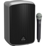 Behringer MPA100BT ตู้ลำโพง All-in-One Portable 100-Watt Speaker with Wireless Microphone, Bluetooth* Connectivity and Battery Operation