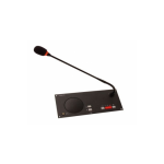TELEVIC FC/M Integrated flush mount chairman panel with interference resistant microphone and loudspeaker
