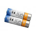 TOA ,WB-2000-2 ,containing ,2 pieces,Battery AA ,nickel-metal hydride ,Ni-MH, rechargeable battery, pack designed, TOA WM-5225, WM-5265, Wireless Microphones, WM-5325 ราคา,Wireless Transmitter, WT-5100 Portable Receiver,Battery charger