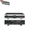 YAMAHA  MA-2030Lo-Z/Hi-Z switchable compact Class-D mixer amplifier (Lo-Z: 30W x2ch, Hi-Z: 60W x1ch) equipped with 3 stereo inputs, 2 microphone inputs and powerful DSP functions for high quality music playback and microphone use.