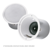 "EV,Electro-Voice evid C8.2HC 8"" Waveguide-coupled coaxial 2way speaker with horn loaded Ti coated tweeter-complete with can enclosure , tile rails , and mounting ring –for 70v/100v  or  8 omh. Operation."