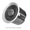 "EV,Electro-Voice evid C12.2 intergrated 12"" ceiling mounting  speaker systems - complete with can enclosure , tile rails , and mounting ring –for 70v/100v  or  8 omh. Operation."