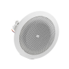 JBL 8124 Clear, High-Fidelity Performance Dog-ears for easy Blind Mount Installations High Sensitivity (93 dB, 1W, 1m) for Maximum Power Efficiency 6W Transformer for use of 70V / 100V Distributed Lines