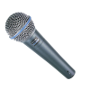 SHURE Beta 58A Vocal Microphone supercardioid