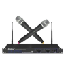 ENBAO EU-2700/EB-9H/EB-9H Dual Handheld Dynamic Wireless Microphone, Fixed Frequancy, 40Hz - 16KHz, SENSITIVITY : 1.6uV @ SINAD = 12dB