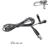EV,Electro-Voice ULM-21 The ULM21 is a rugged lavalier microphone with a directional pickup pattern.   The small size and pickup pattern helps reduce feedback and improve sound quality.