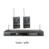 Mipro MR-823III / MT-801a / MT-801a MR-823D UHF diversity systems Dual-channel fixed frequency. MT-801a UHF Bodypack Transmitter 2